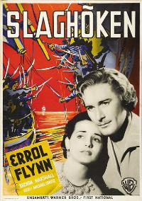 The Sea Hawk - 11 x 17 Movie Poster - Swedish Style A