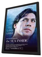 The Sea Inside - 11 x 17 Movie Poster - Style A - in Deluxe Wood Frame