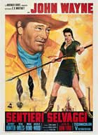 The Searchers - 11 x 17 Movie Poster - Italian Style B