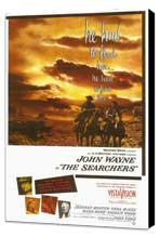The Searchers - 11 x 17 Movie Poster - Style A - Museum Wrapped Canvas