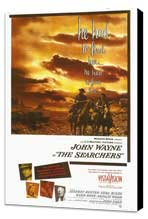 The Searchers - 27 x 40 Movie Poster - Style A - Museum Wrapped Canvas