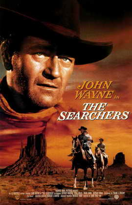 The Searchers - 11 x 17 Movie Poster - Style B