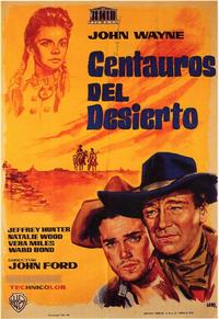 The Searchers - 11 x 17 Movie Poster - Spanish Style A