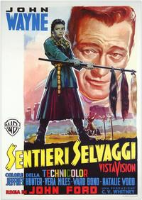 The Searchers - 11 x 17 Movie Poster - Italian Style A