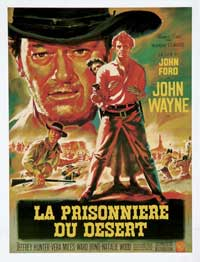 The Searchers - 11 x 17 Movie Poster - French Style A