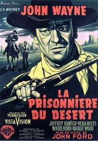The Searchers - 11 x 17 Movie Poster - French Style B