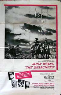 The Searchers - 11 x 17 Movie Poster - Australian Style A