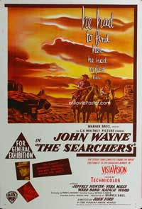 The Searchers - 11 x 17 Poster Australian Style B