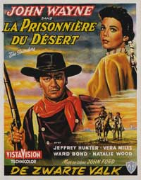The Searchers - 11 x 17 Movie Poster - Belgian Style A