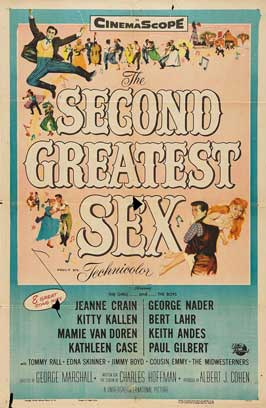 The Second Greatest Sex - 27 x 40 Movie Poster - Style A