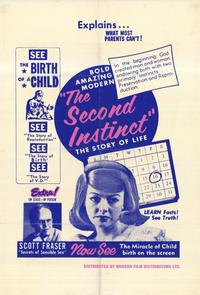 The Second Instinct - 11 x 17 Movie Poster - Style A