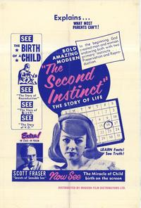 The Second Instinct - 27 x 40 Movie Poster - Style A