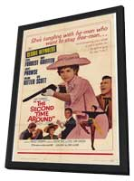 Second Time Around - 11 x 17 Movie Poster - Style A - in Deluxe Wood Frame