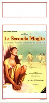 The Second Wife - 13 x 28 Movie Poster - Italian Style A