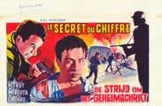The Secret Code - 11 x 17 Movie Poster - Belgian Style A
