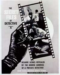 The Secret Files of Detective 'X' - 27 x 40 Movie Poster - Style A