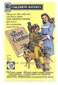 The Secret Garden - 27 x 40 Movie Poster - Style A