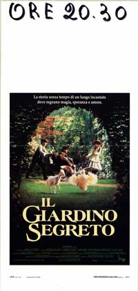 The Secret Garden - 13 x 28 Movie Poster - Italian Style A
