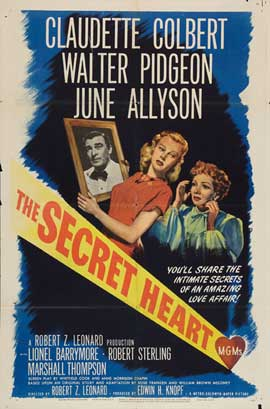 The Secret Heart - 27 x 40 Movie Poster - Style A