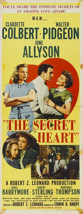 The Secret Heart - 14 x 36 Movie Poster - Insert Style A