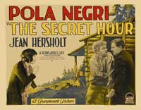 The Secret Hour - 22 x 28 Movie Poster - Half Sheet Style A