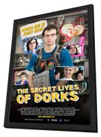 The Secret Lives of Dorks - 11 x 17 Movie Poster - Style A - in Deluxe Wood Frame