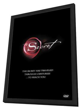 The Secret - 11 x 17 Movie Poster - Style A - in Deluxe Wood Frame