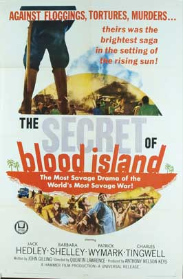 The Secret of Blood Island - 11 x 17 Movie Poster - Style A