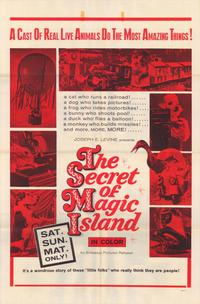 The Secret of Magic Island - 27 x 40 Movie Poster - Style A