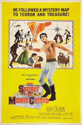 The Secret of Monte Cristo - 27 x 40 Movie Poster - Style B