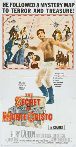 The Secret of Monte Cristo - 20 x 40 Movie Poster - Style A