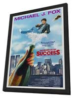The Secret of My Success - 11 x 17 Movie Poster - Style A - in Deluxe Wood Frame