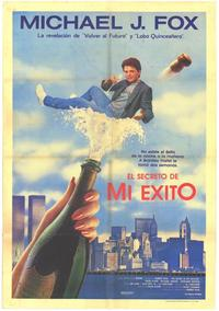 The Secret of My Success - 11 x 17 Movie Poster - Spanish Style A