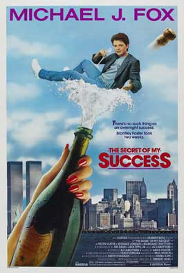 The Secret of My Success - 27 x 40 Movie Poster - Style A
