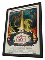 The Secret of NIMH - 27 x 40 Movie Poster - Style C - in Deluxe Wood Frame