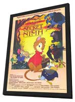 The Secret of NIMH - 11 x 17 Movie Poster - Style B - in Deluxe Wood Frame