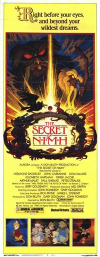 The Secret of NIMH - 14 x 36 Movie Poster - Insert Style A
