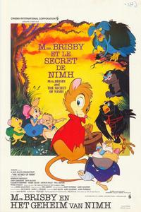 The Secret of NIMH - 11 x 17 Movie Poster - Belgian Style A