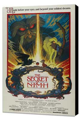 The Secret of NIMH - 27 x 40 Movie Poster - Style C - Museum Wrapped Canvas