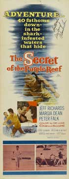 Secret of the Purple Reef - 14 x 36 Movie Poster - Insert Style A