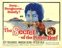 Secret of the Purple Reef - 22 x 28 Movie Poster - Half Sheet Style A