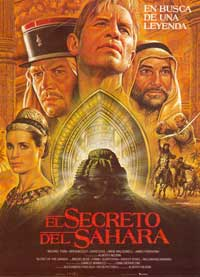 Secret of the Sahara, The - 11 x 17 Movie Poster - Spanish Style A