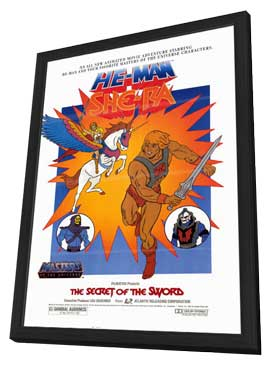 The Secret of the Sword - 11 x 17 Movie Poster - Style A - in Deluxe Wood Frame