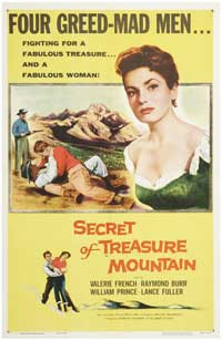 The Secret of Treasure Mountain - 11 x 17 Movie Poster - Style A