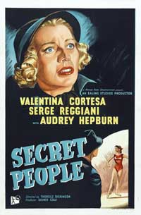 The Secret People - 11 x 17 Movie Poster - Style A