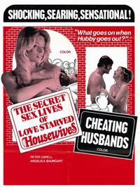 The Secret Sex Lives of Love Starved Housewives - 11 x 17 Movie Poster - Style A