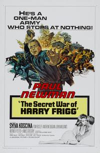 The Secret War of Harry Frigg - 11 x 17 Movie Poster - Style B