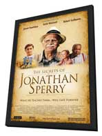 The Secrets of Jonathan Sperry - 27 x 40 Movie Poster - Style A - in Deluxe Wood Frame