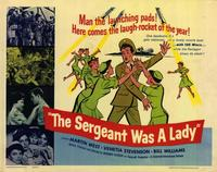 Sergeant Was a Lady - 22 x 28 Movie Poster - Half Sheet Style A