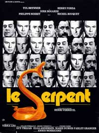 Serpent - 11 x 17 Movie Poster - French Style A